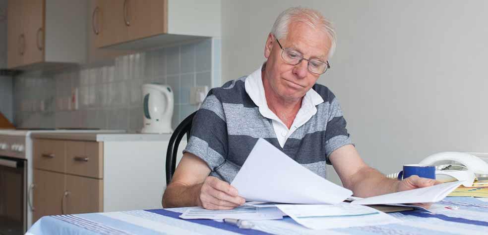 мужчина на пенсии