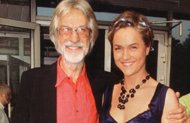 Дарья с отцом