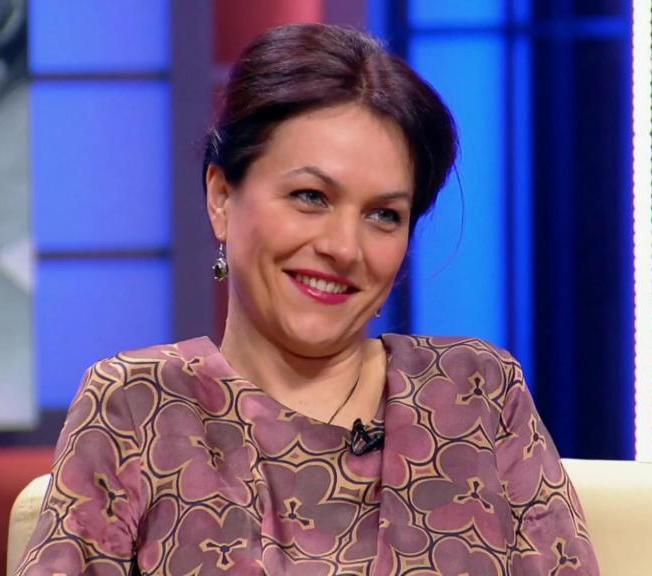 Актриса Дарья Хмельницкая
