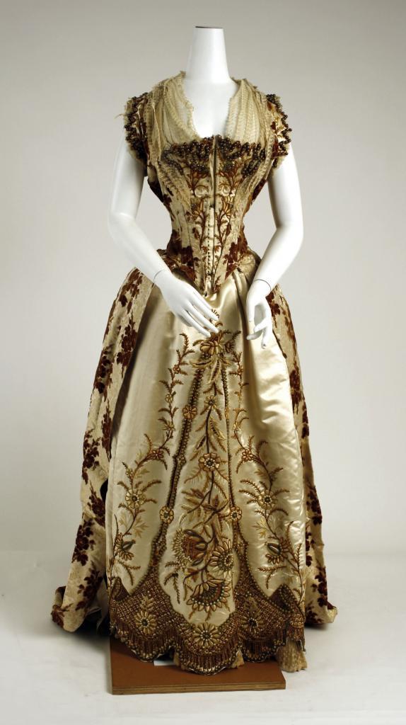 бальное платье 18 века