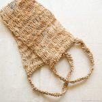 Вязание мочалок спицами для начинающих