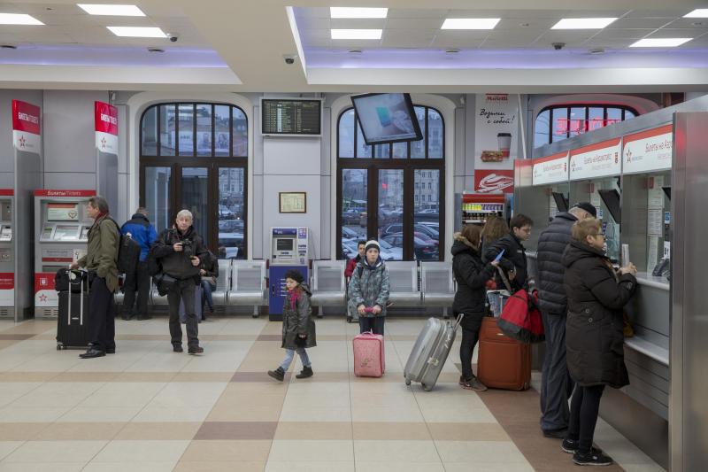 Билетные кассы на Белорусском вокзале