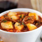 Картофельное рагу с мясом: рецепты