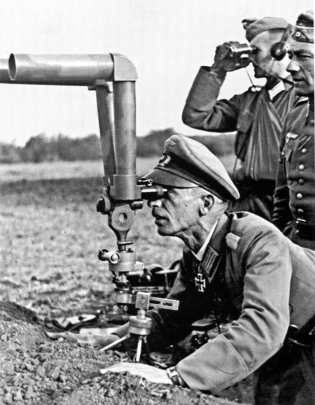 Перископ в немецкой армии, 2-я мировая война