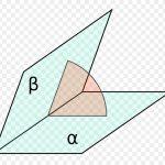Двугранные углы и формула для их вычисления. Двугранный угол при основании четырехугольной правильно...
