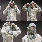 Как завязывать арабский платок?