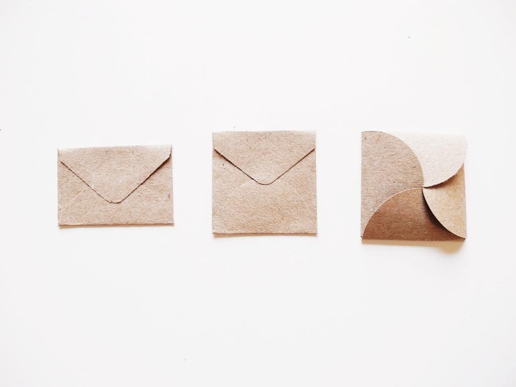Как сделать маленький конвертик фото 401