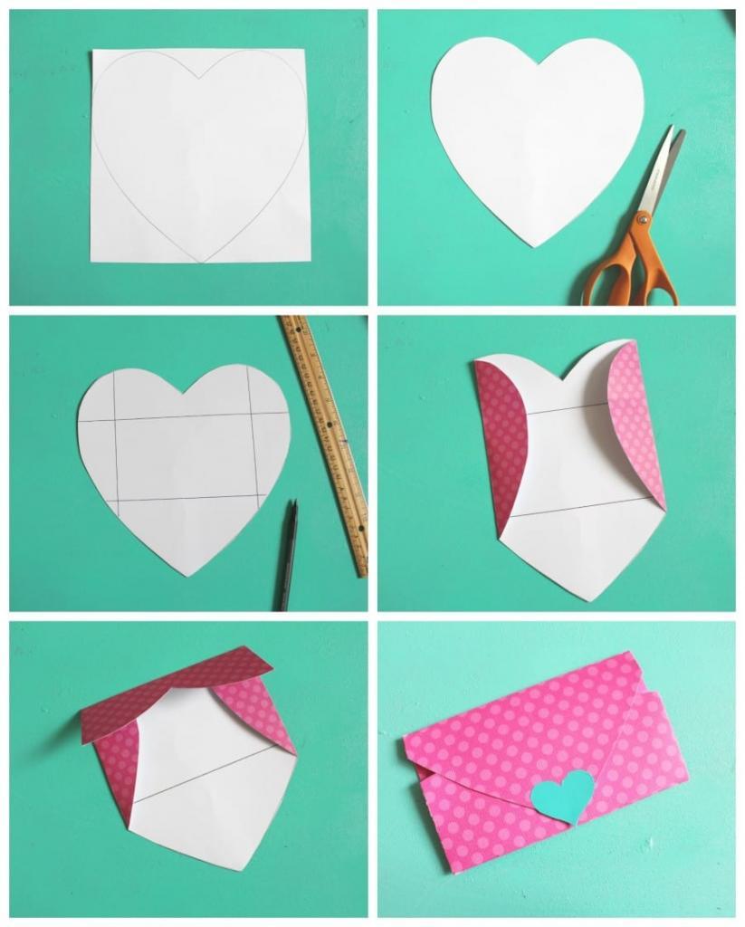 Как сделать маленький конвертик фото 942