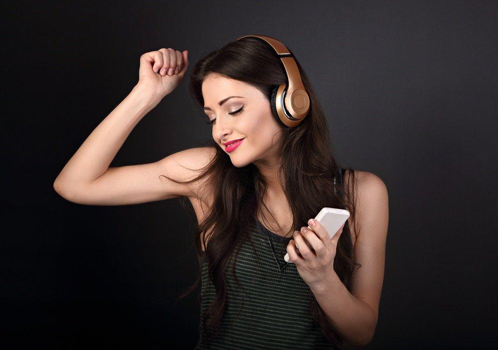 Музыка хорошо бодрит