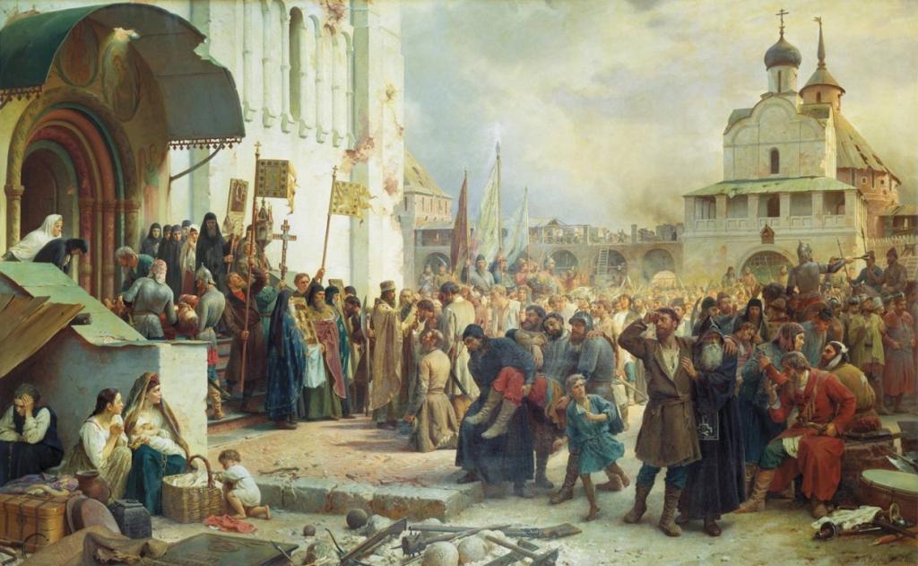 Лжедмитрий I в Москве