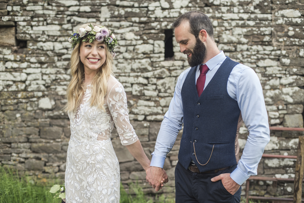 свадьба с караваем