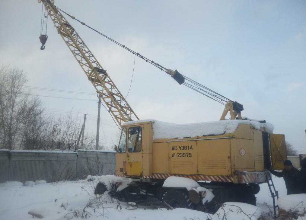 КС-4361А на снегу