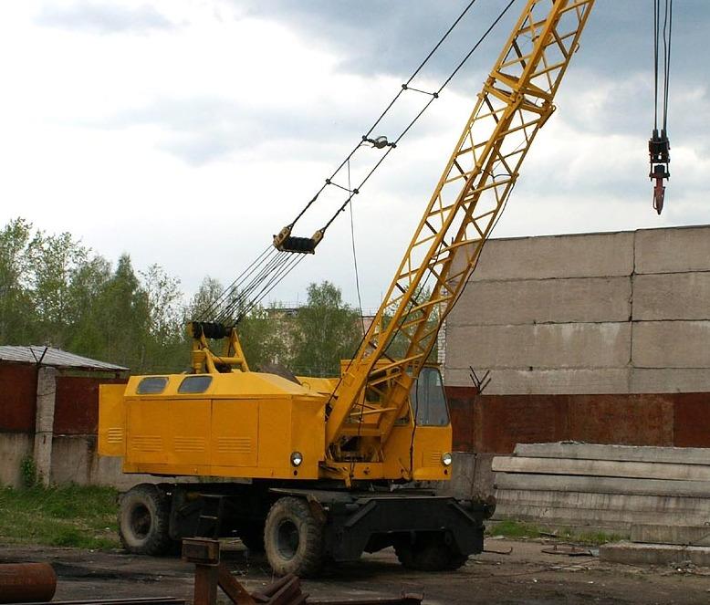 КС-4361А на стройке