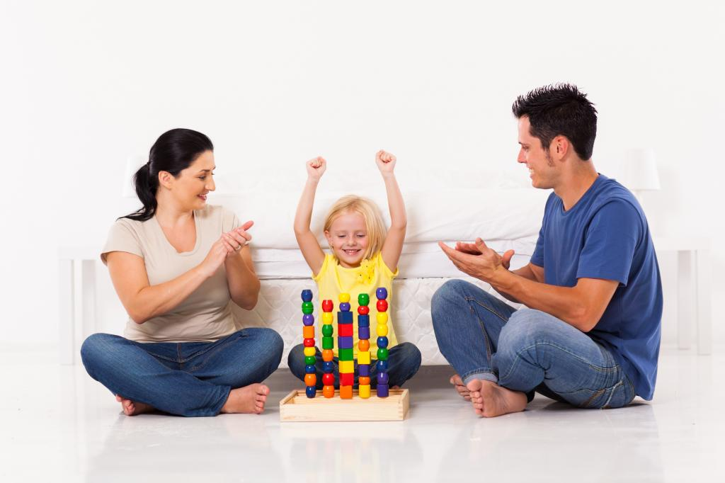 Хвалят ребенка