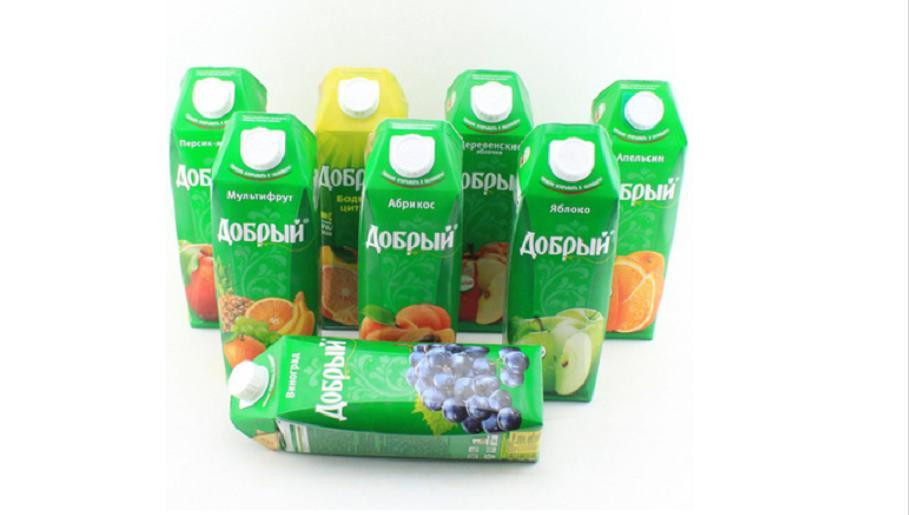 """серия соков """"Добрый"""""""