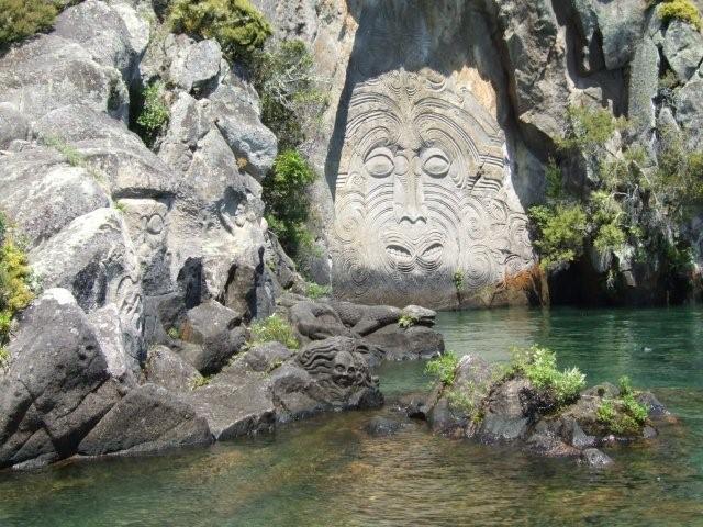 Лик божества Таупо