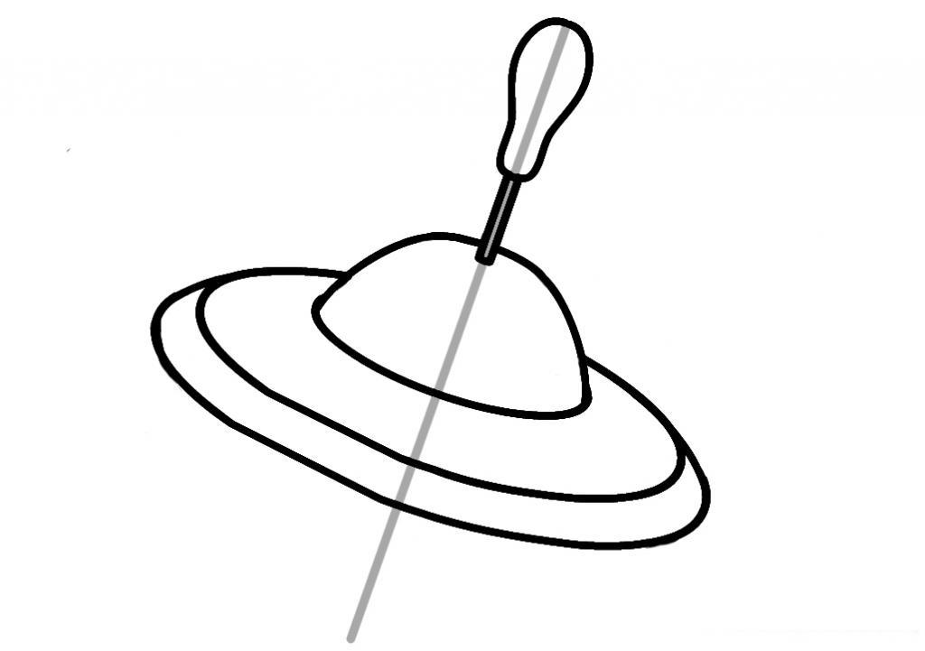 рисунок юла этап 4