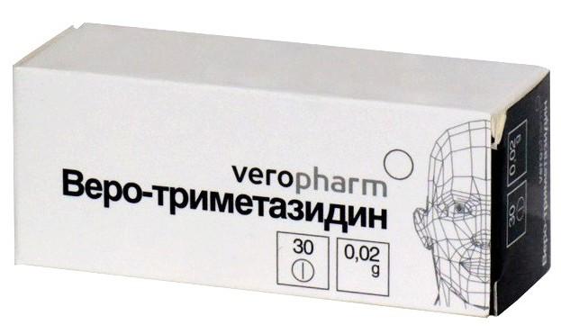 """Препарат """"Веро-Триметазидин"""""""