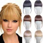 Накладные челки из натуральных волос: создаем стильную прическу