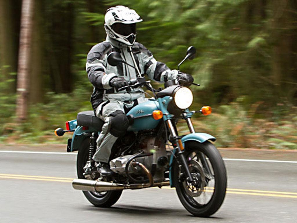 Обычный мотоцикл