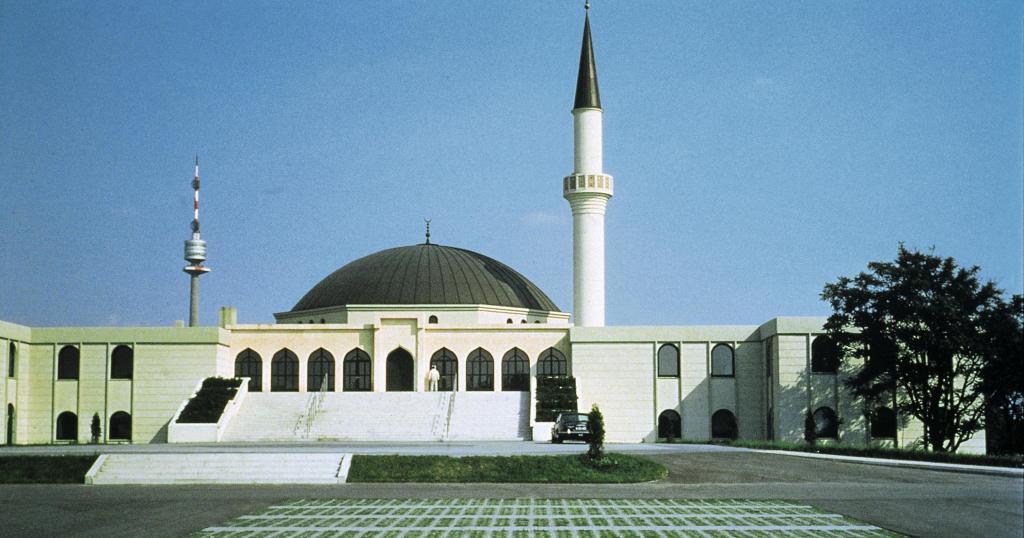 Исламская мечеть в Вене