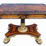 Ломберный столик - что это такое? Описание, назначение и виды ломберного столика