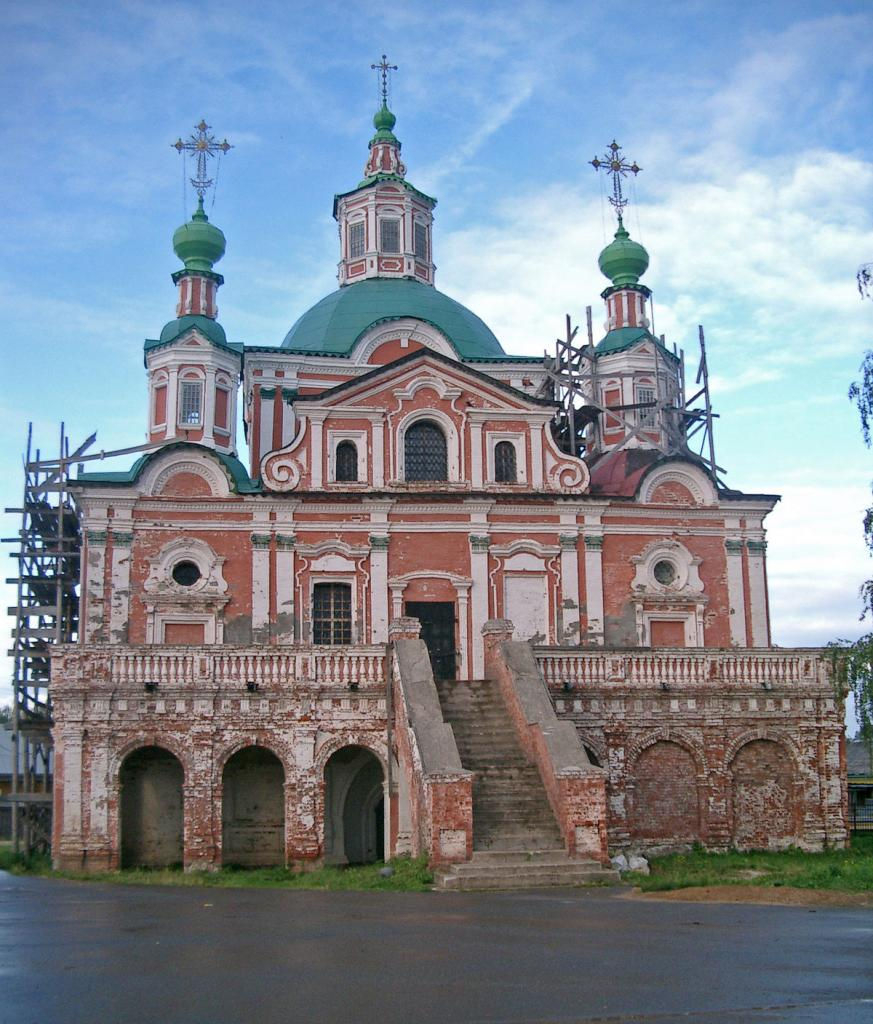 архитектура русской церкви