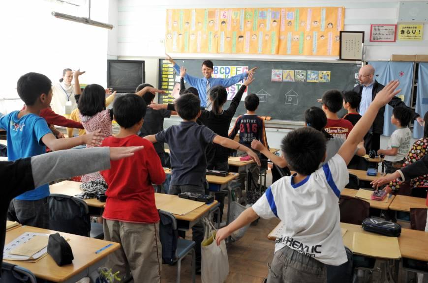 физкультминутка на уроке английского языка
