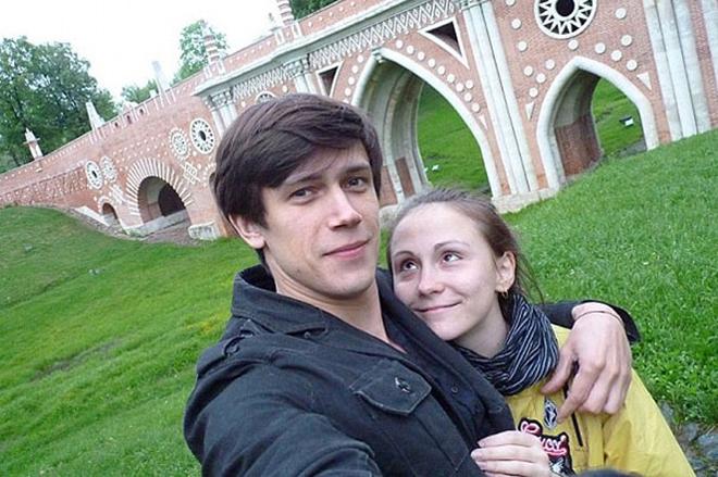 Мария Бердинских и ее муж