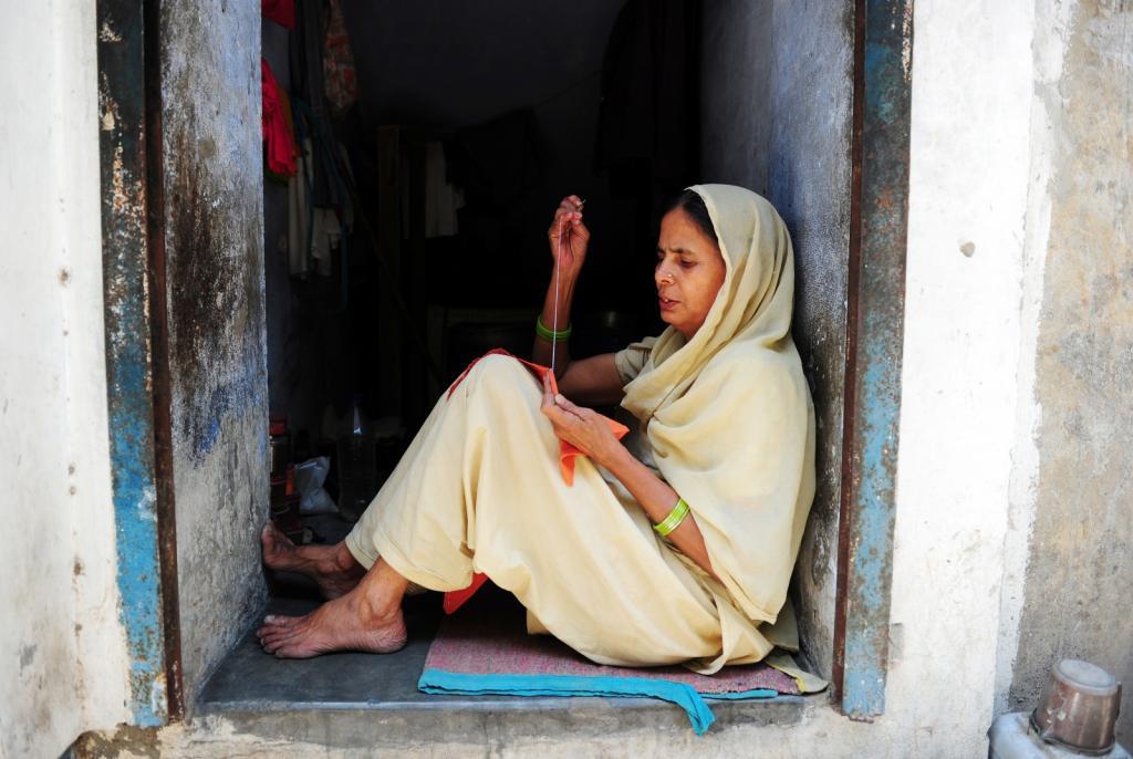 Вдова в Индии