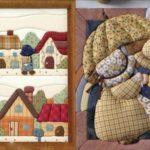 Картины из лоскутков ткани своими руками: техника выполнения, необходимые материалы и инструменты, п...