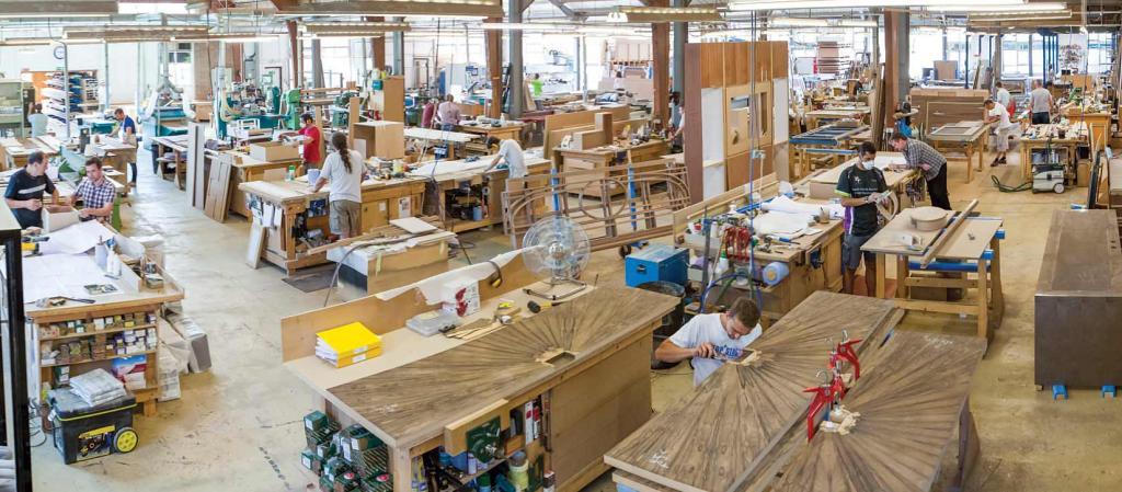 Производственные площадя