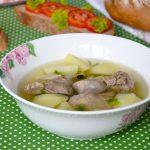 Бухлер из баранины - популярный суп бурятской кухни