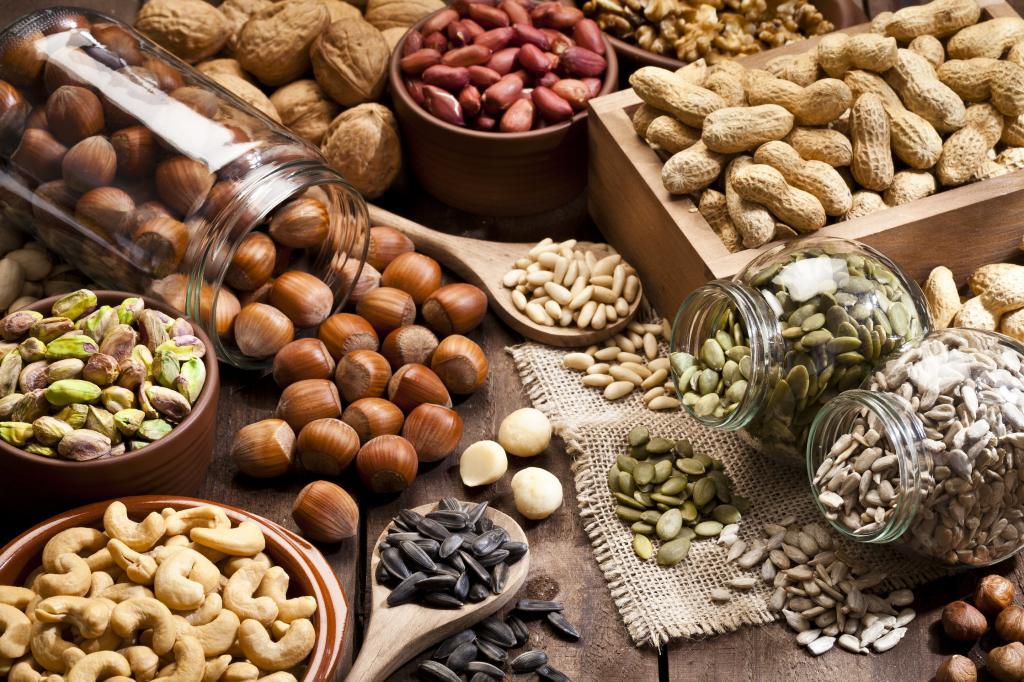 жареные орехи польза и вред