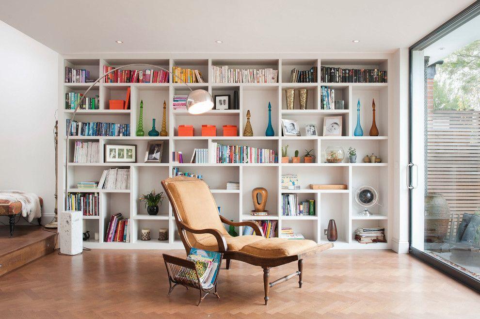 Интерьер комнаты для чтения