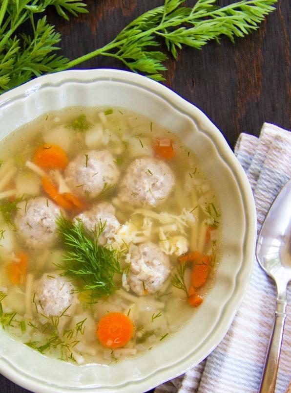технология приготовления супа с макаронными