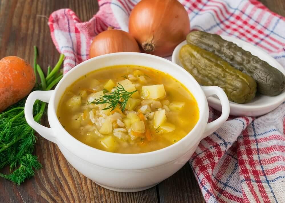 технология приготовления простых супов