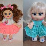 Вяжем кукол спицами: пошаговое описание для начинающих