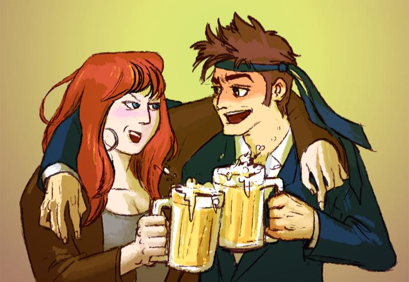 Товарищ по выпивке