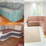 Чехлы на угловой диван своими руками: пошаговая инструкция, описание, фото