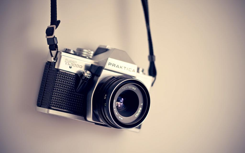 Фотоаппарат для съемки