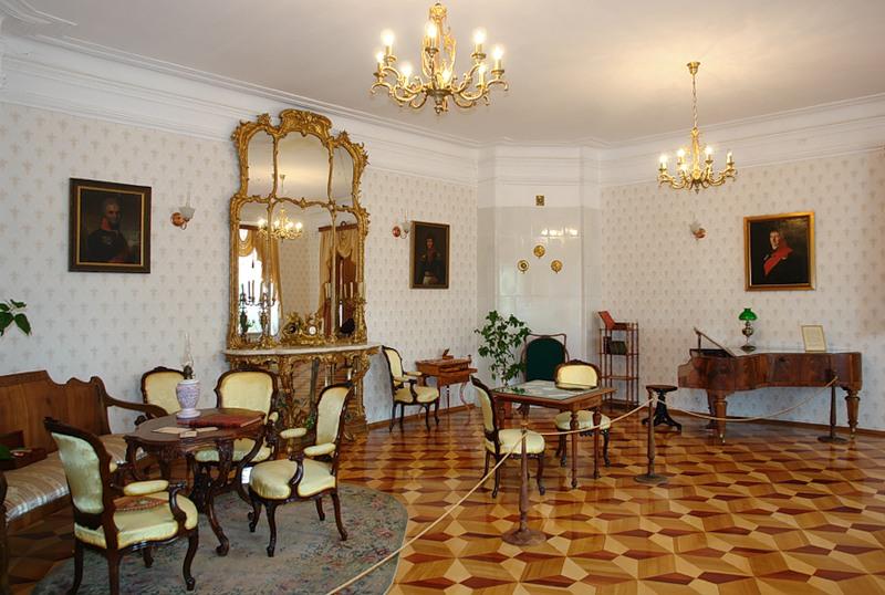 Гостиная в Большом доме