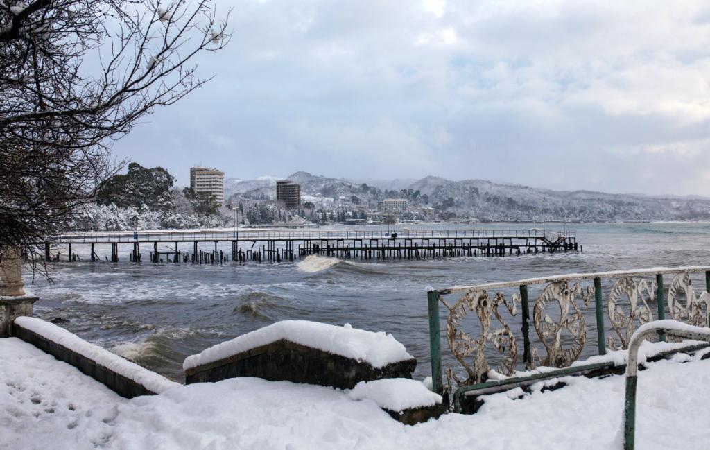 Снежный Сухум.