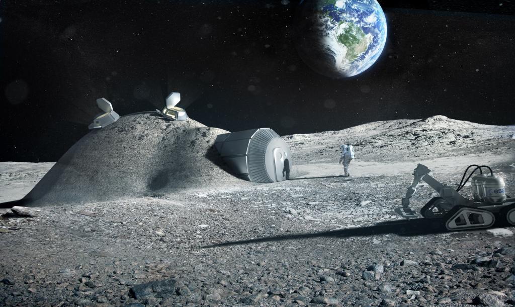 добыча полезных ископаемых на Луне