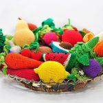 Вязание крючком овощей и фруктов: схемы, выбор крючка и ниток, фото