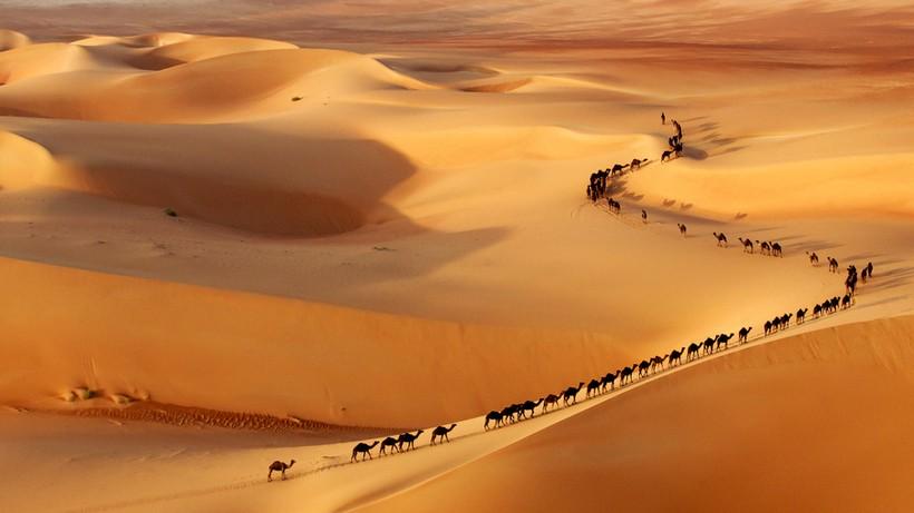 Пустыня Саудовской Аравии