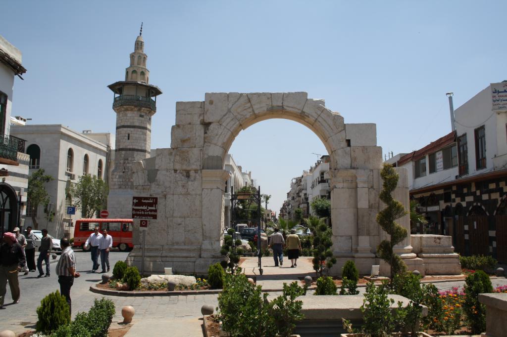 Древние улицы Дамаска