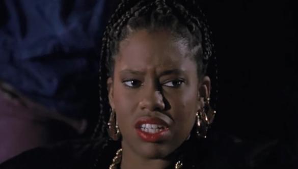 Кадр из кинокартины с Реджиной Кинг