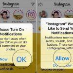 Как включить уведомления в Инстаграме на Айфоне?
