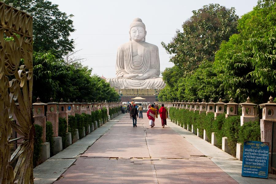 Аллея к Будде